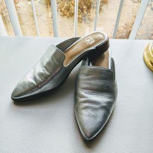 Gianni Bini | Silver Mules